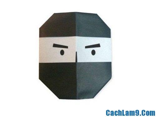 Cách gấp mặt nạ Ninja