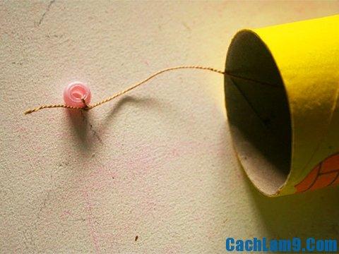 Hướng dẫn làm chuông gió bằng giấy