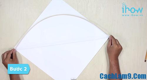 Hướng dẫn làm diều giấy