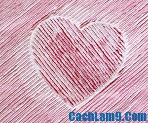 Hướng dẫn làm gối trái tim