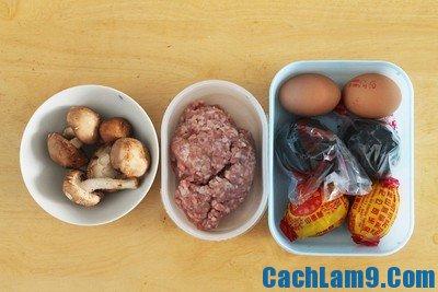 Cách làm trứng hấp thập cẩm