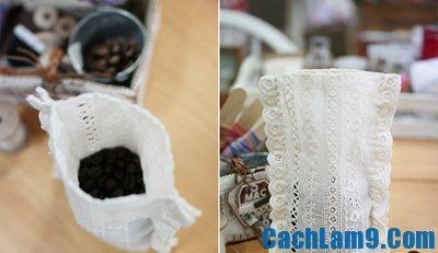 Hướng dẫn làm túi thơm mùi café