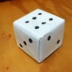 Cách xếp xúc xắc bằng giấy đơn giản theo phong cách Origami