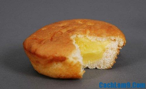 Cách làm bánh trứng Custard