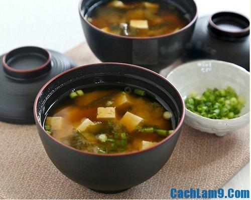 Hướng dẫn làm món canh Miso Nhật Bản