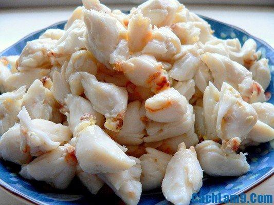 Cách nấu cháo cua biển