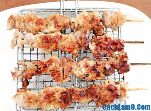 Cách nướng thịt