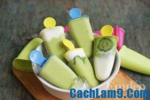 Cách làm kem bơ sữa chua, cach lam kem bo sua chua