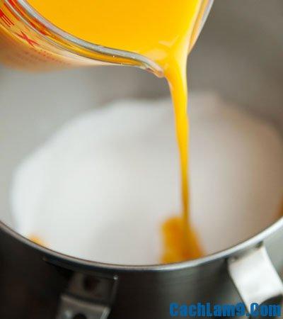 Thực hiện làm sữa chua vị chanh dây, thuc hien lam sua chua vi chanh day