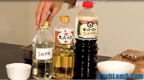Nguyên liệu làm gà sốt teriyaki: Làm món gà sốt teriyaki như thế nào?