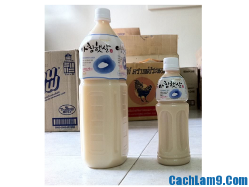 Thực hiện cách làm sữa gạo Hàn Quốc: Hướng dẫn làm sữa gạo đúng chuẩn Hàn Quốc