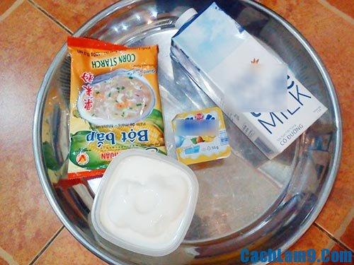 Nguyên liệu làm váng sữa là gì? Làm váng sữa như thế nào?
