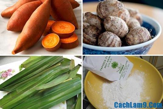 Nguyên liệu nấu chè bô bô cha cha: Hướng dẫn cách nấu chè bobochacha