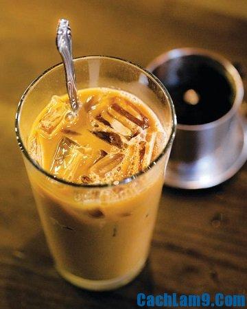 Cách pha cà phê sữa đá ngon: Công thức pha cà phê sữa đá đúng vị