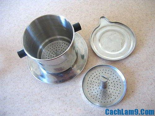 Nguyên liệu pha cà phê sữa đá: Làm sao để pha cà phê sữa đá ngon