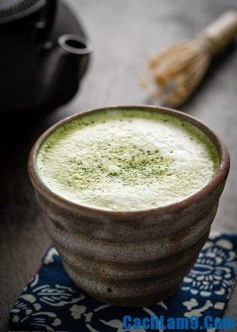 Cách pha latte trà xanh ngon nhất: Pha latte trà xanh như thế nào ngon?
