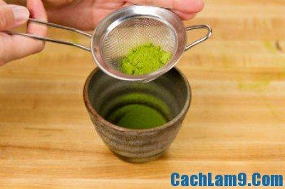 Hướng dẫn pha latte trà xanh: Công thức và cách pha latte trà xanh ngon đúng chuẩn