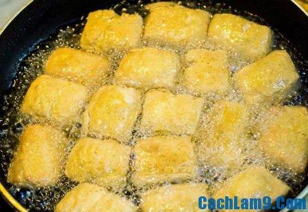 Hướng dẫn rán đậu ngon, giòn, không dính chảo: Cách rán đậu vàng thơm, không bị sát