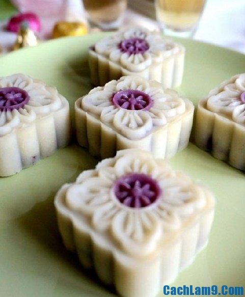 Cách làm bánh dẻo khoai lang tím thơm ngon, đẹp mắt: Hướng dẫn làm bánh dẻo khoai lang tím nhân dịp bánh trung thu