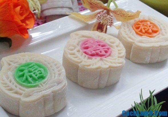 Cách làm bánh dẻo Nhật thơm ngon không cưỡng nổi