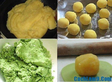 Hướng dẫn làm bánh dẻo trà xanh: Quy trình làm bánh dẻo trà xanh ngon, đơn giản