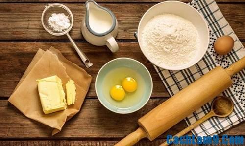 Nguyên liệu làm bánh mì hoa cúc cực ngon: Làm bánh mì hoa cúc như thế nào?