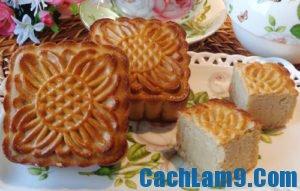 Cách làm bánh nướng nhân đậu trắng