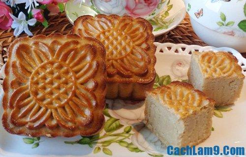 Cách làm bánh nướng nhân đậu trắng ngon lạ, cực dễ