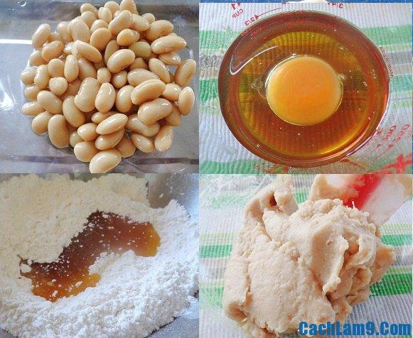 Hướng dẫn cách làm bánh nướng nhân đậu trắng: Nguyên liệu làm bánh nướng nhân đậu trắng là gì?