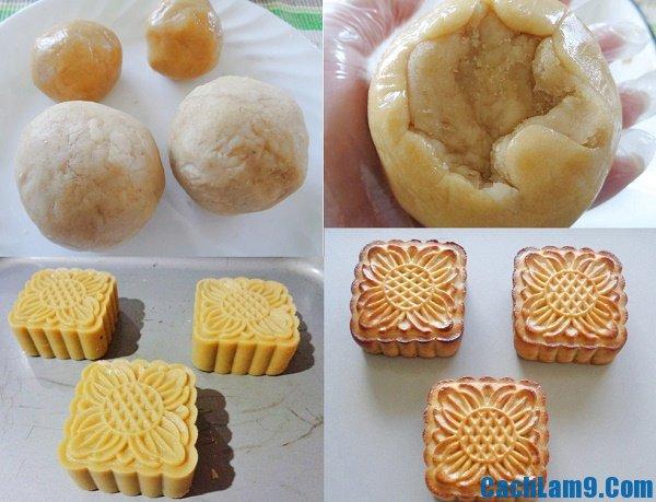 Hướng dẫn cách làm bánh nướng nhân đậu trắng ngon, đơn giản tại nhà