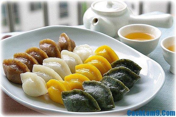Cách làm bánh trung thu Hàn Quốc ngon