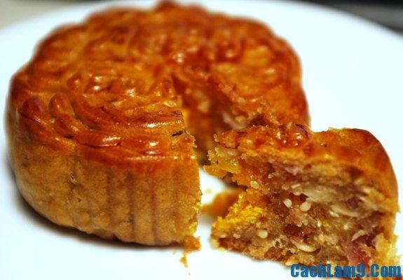 Cách làm bánh trung thu thập cẩm: Quy trình các bước làm bánh trung thu nhân thập cẩm