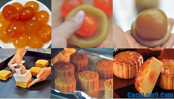 Cách làm bánh trung thu nhân trứng muối: Bí quyết và mẹo làm bánh trung thu nhân trứng muối đơn giản, dễ làm