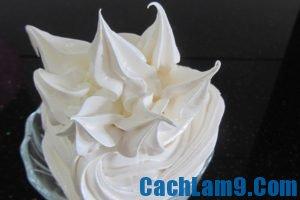 Cách làm kem tươi whipping