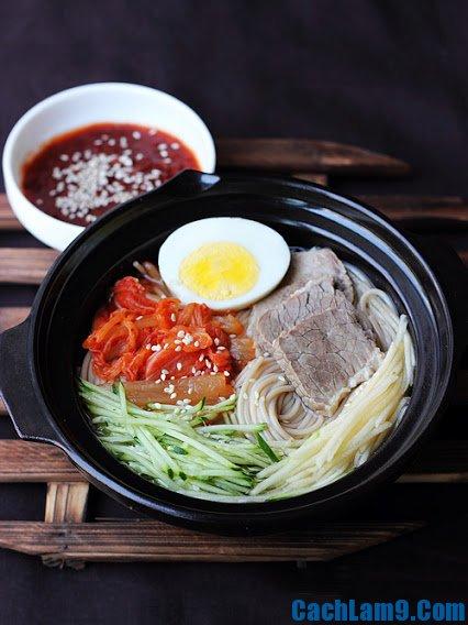 Hướng dẫn làm mì lạnh ngon: Bí quyết nấu món mì lạnh Hàn Quốc cực hấp dẫn
