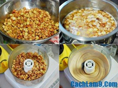 Nguyên liệu làm nhân sen nhuyễn cho bánh trung thu: Các bước làm nhân sen cho bánh trung thu