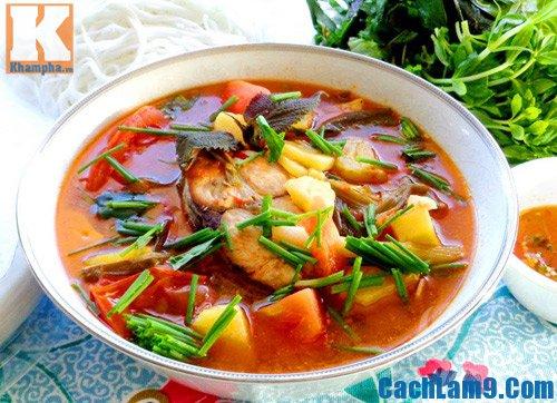 Cách nấu bún cá ngừ, cach nau bun ca ngu