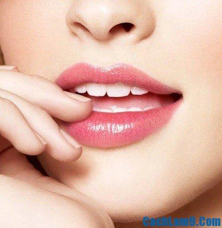 Cách trị thâm môi, cach tri tham moi: Mẹo trị thâm môi nhanh chóng, hiệu quả