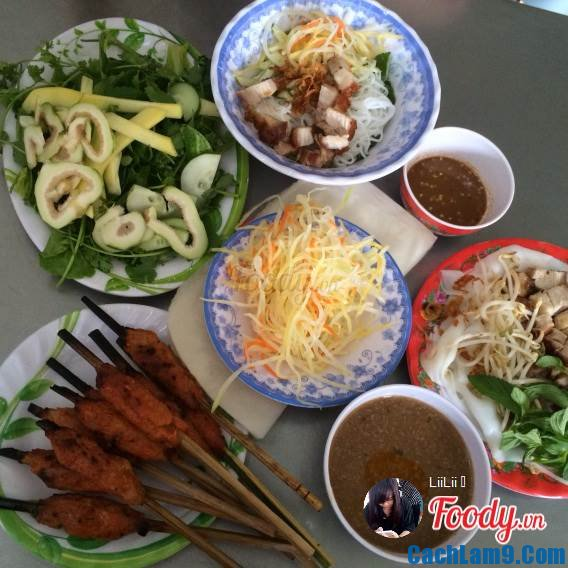 Nem nướng tài Phú, nem nuong Tai Phu