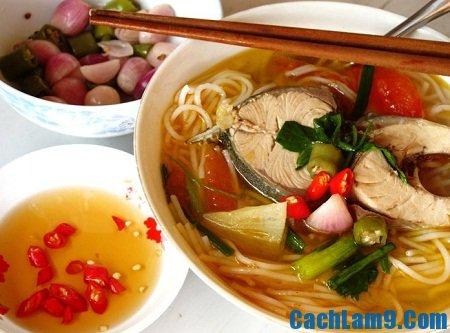 Thưởng thức bún cá ngừ, thuong thuc bun ca ngu: Bí quyết nấu bún cá ngừ ngon đúng chất miền Trung
