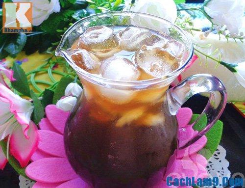 Thưởng thức trà bí đao, thuong thuc tra bi dao: Nấu chè bí đao như thế nào ngon, thơm mát
