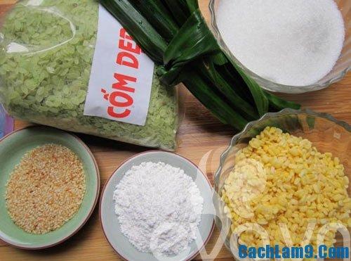 Nguyên liệu chuẩn bị làm bánh cốm là gì? Làm bánh cốm như thế nào?
