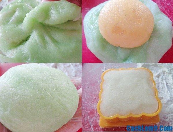Hướng dẫn cách làm bánh dẻo lá dứa nhân đậu xanh đơn giản, thơm ngon