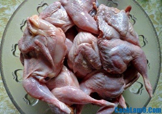 Nguyên liệu chuẩn bị làm chim cút nướng tỏi ớt: Công thức và cách chế biến làm chim cút nướng tỏi ớt
