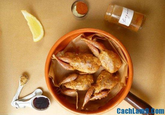 Làm chim cút nướng tỏi ớt: Quy trình làm chim cút nướng tỏi ớt cực hấp dẫn tại nhà