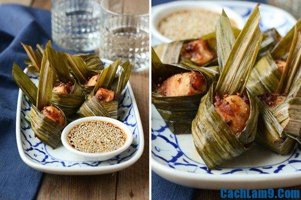 Cách làm gà gói lá dứa ngon: Làm sao để nấu món gà gói lá dứa đơn giản, hấp dẫn tại nhà