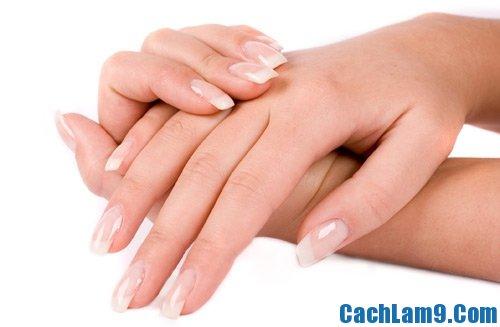 Cách chăm sóc móng tay tại nhà, hướng dẫn tự chăm sóc móng tay trắng đẹp tại nhà