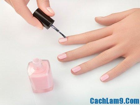 Mẹo chăm sóc móng tay tại nhà, làm sao để giữ móng tay khỏe đẹp, trắng sạch