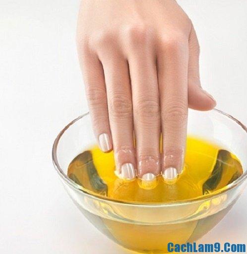 Chăm sóc móng tay tại nhà, hướng dẫn chăm sóc móng tay khỏe đẹp, trắng sạch
