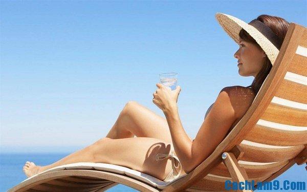 Cách chữa cháy nắng cấp tốc cho làn da, làm sao để chữa làn da cháy nắng nhanh nhất